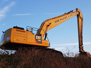 Long Reach Excavator Applications