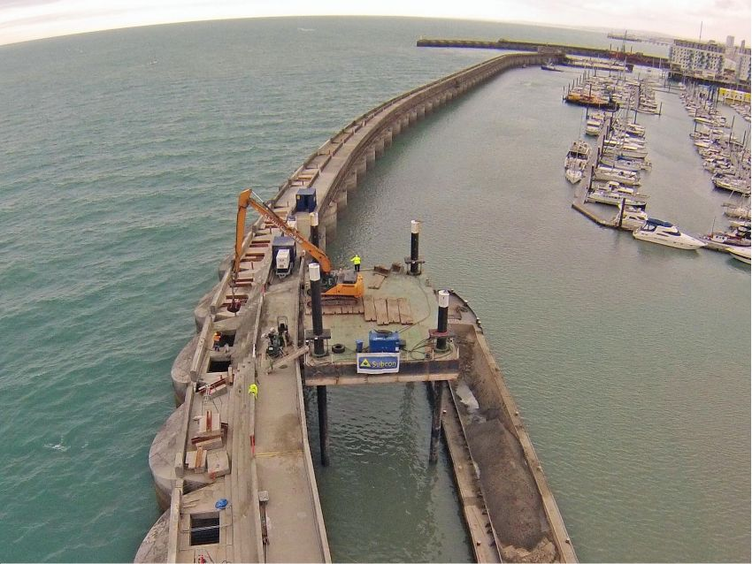 Caisson Remediation Brighton Marina
