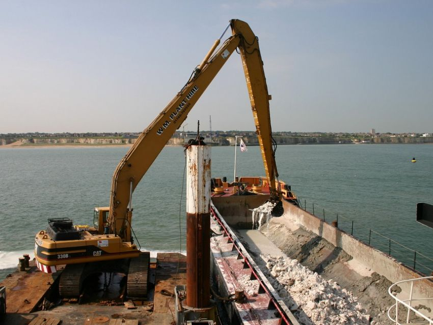 Margate Stormwater outfall – Offshore underwater excavation