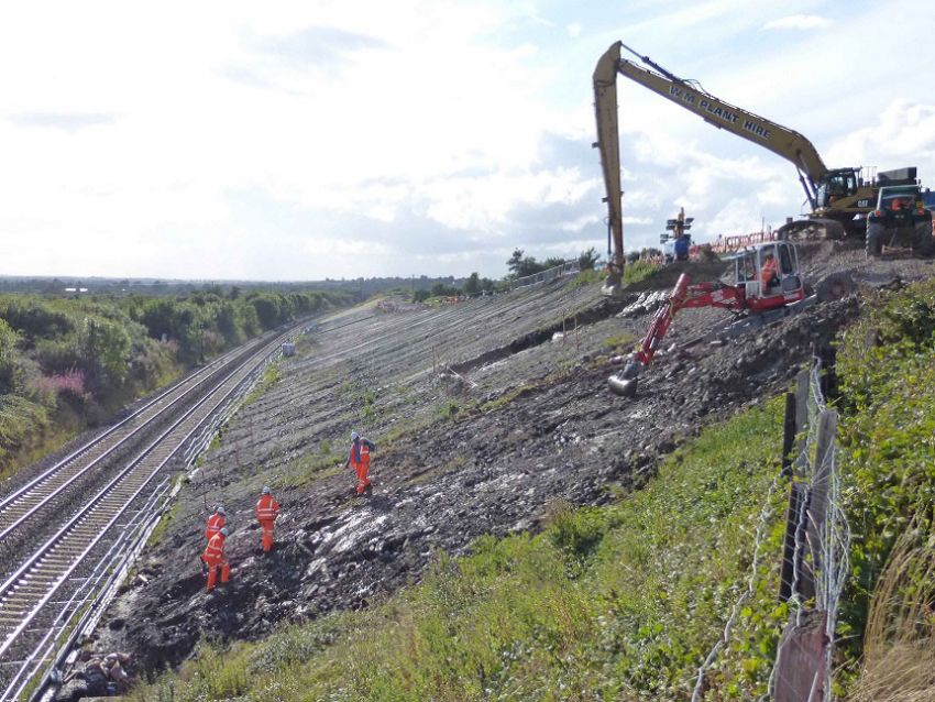 Great Western Mainline Slope Stabilisation