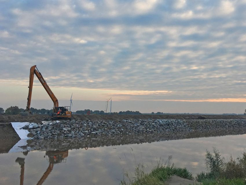 Flood Alleviation Scheme Dutch River, Goole